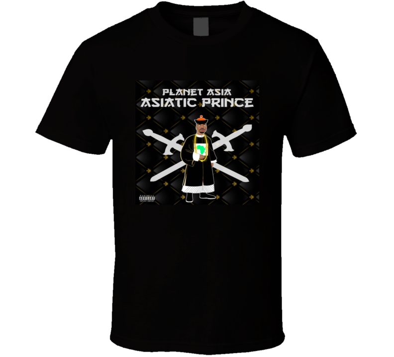 Planet Asia Asiatic Prince Brand New Classic Hip Hop T Shirt