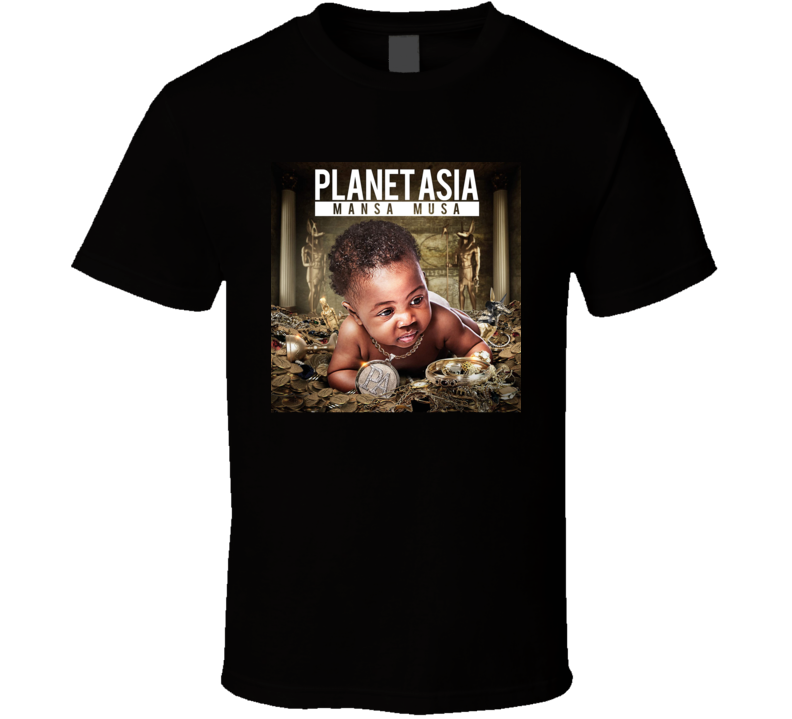 Planet Asia Mansa Musa Brand New Classic Hip Hop T Shirt