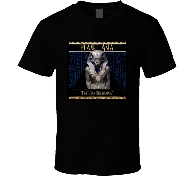 Planet Asia Egyptian Asia Brand New Classic Hip Hop T Shirt