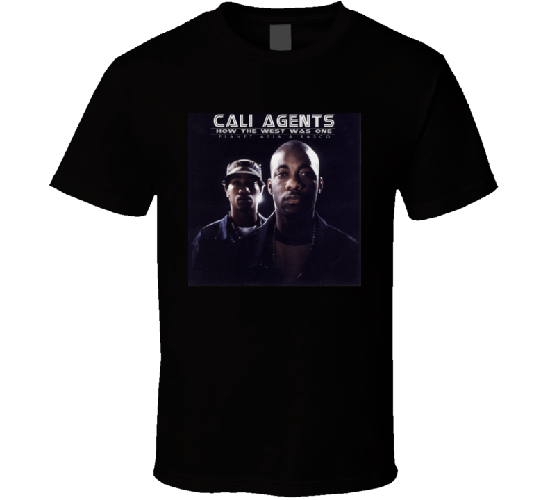 Cali Agents How The West Was Won Brand New Classic Hip Hop T Shirt