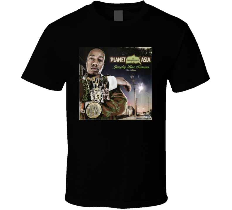 Planet Asia Jewelry Box Session Brand New Classic Hip Hop T Shirt