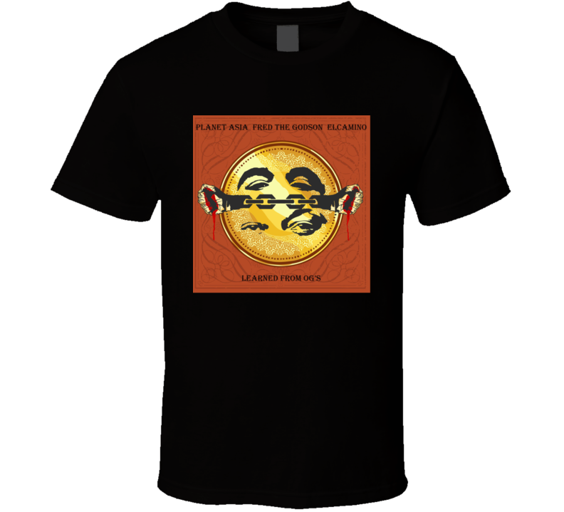 Planet Asia Learned From Og's Brand New Classic Hip Hop T Shirt