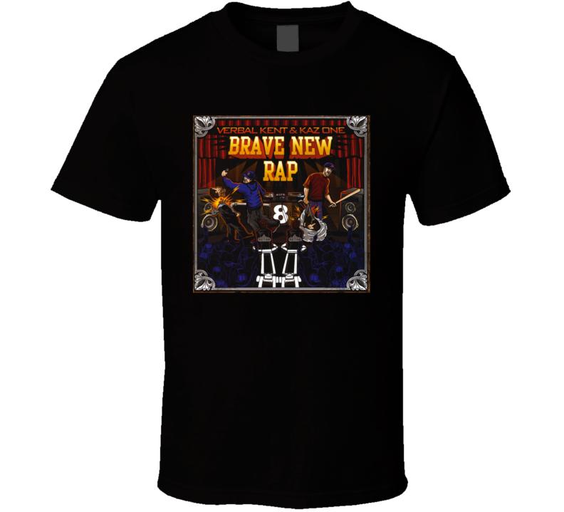 Verbal Kent And Kaz One Brand New Rap Brand New Black Classic Hip Hop T Shirt