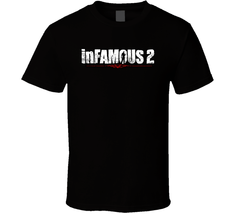 Infamous 2 Videogame T Shirt