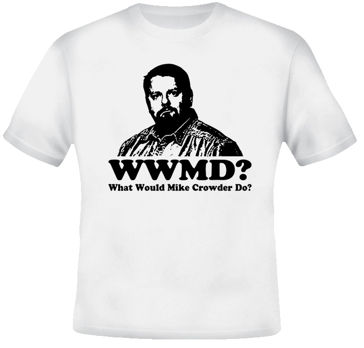 What Would Mike Crowder Do T Shirt
