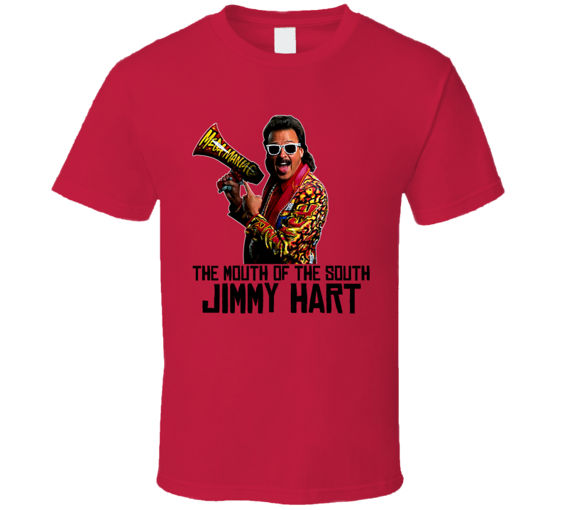 Jimmy Hart Wrestling T Shirt