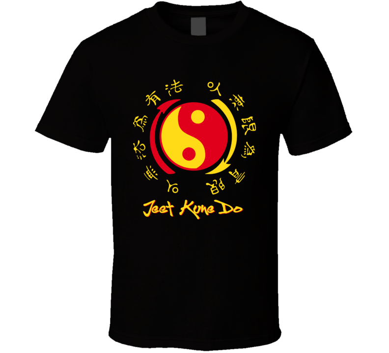 Jeet Kune Do Martial Arts Bruce Mma T Shirt