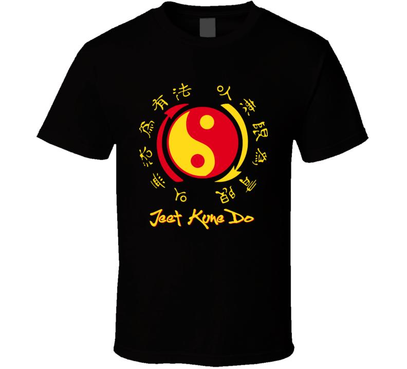 Jeet Kune Do Martial Arts Bruce Mma T Shirt
