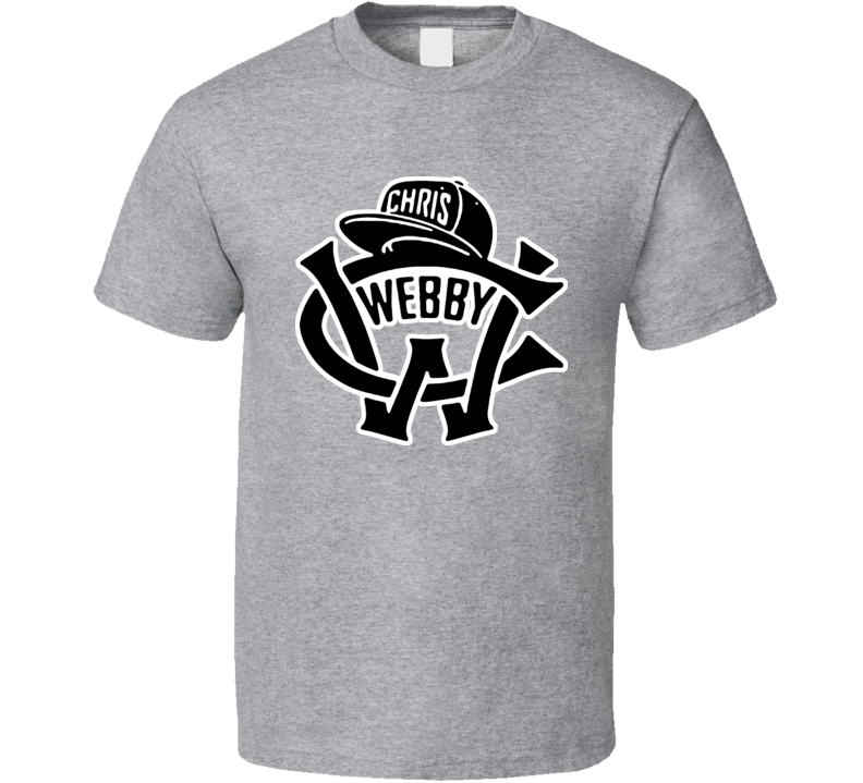 Chris Webby Logo Hip Hop T Shirt