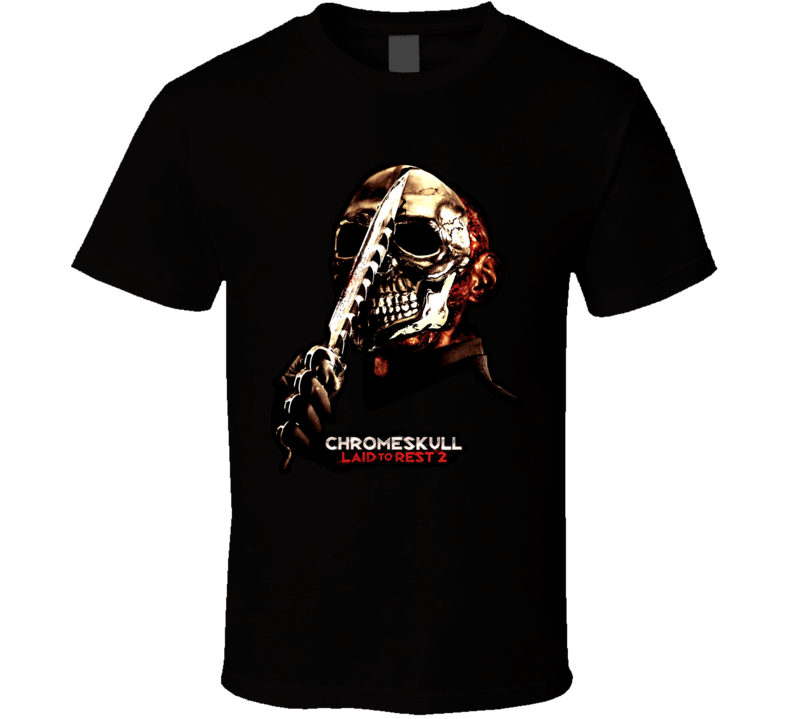 Laid To Rest 2 Chromeskull T Shirt