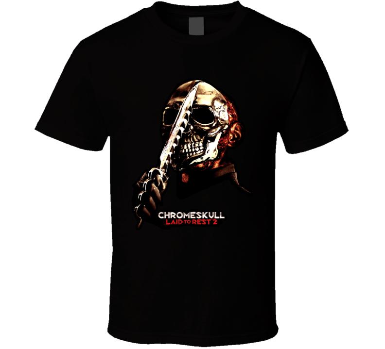 Laid To Rest 2 Chromeskull T Shirt