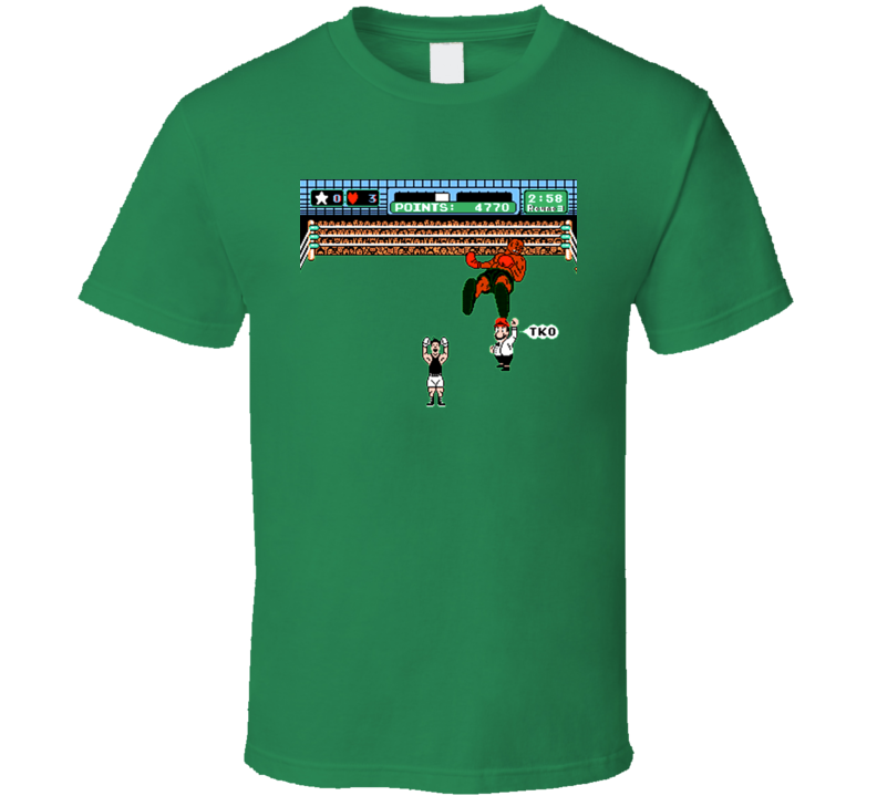 Little Mac Mike Tyson Punch Out Punchout T Shirt