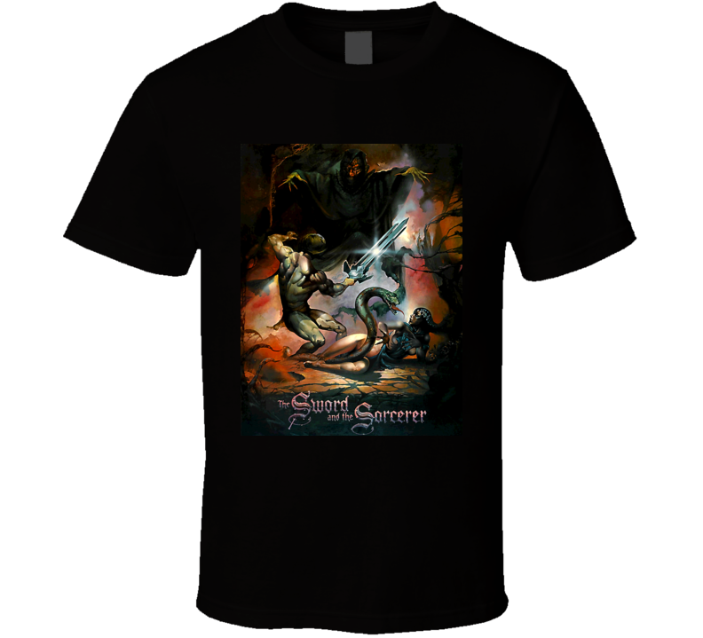 The Sword And The Sorcerer Movie T Shirt