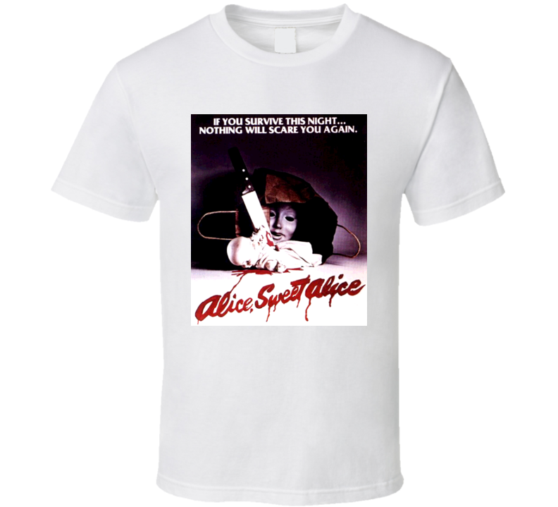 Alice Sweet Alice Cult Movie T Shirt