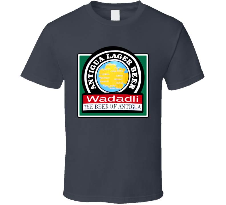 Wadadli Beer Antigua Carib Carribean Lager T Shirt
