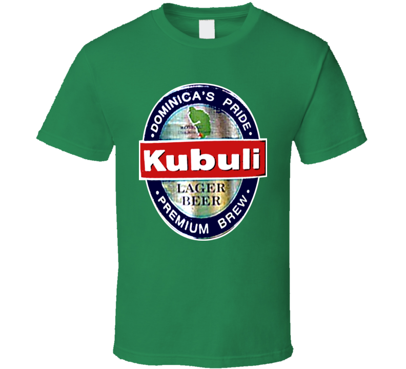 Kubuli Beer Lager Dominican Republic T Shirt