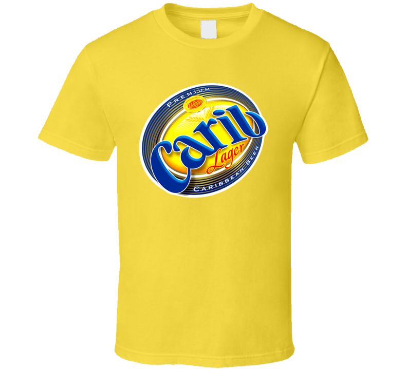 Carib Beer Lager Carribean Grenada T Shirt