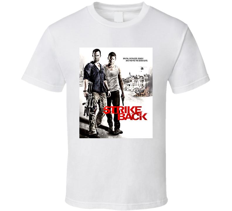 Strike Back Tv Show T Shirt