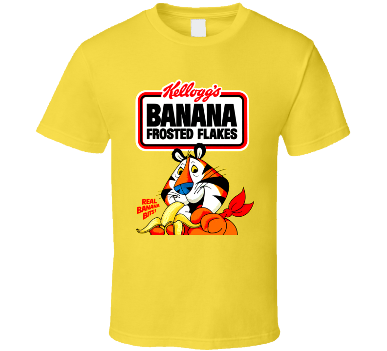 Banana Frosted Flakes Cereal T Shirt