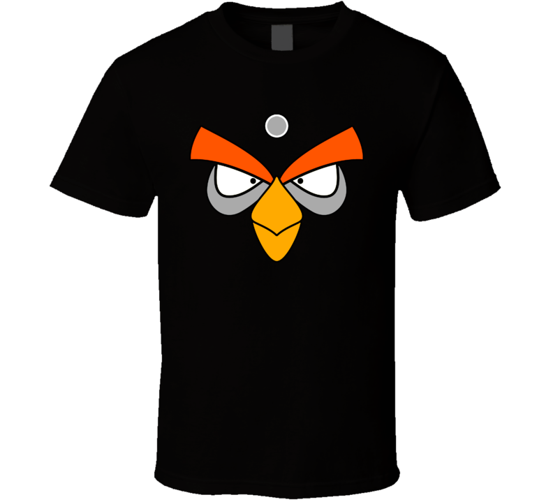 Black Angry Bird T Shirt