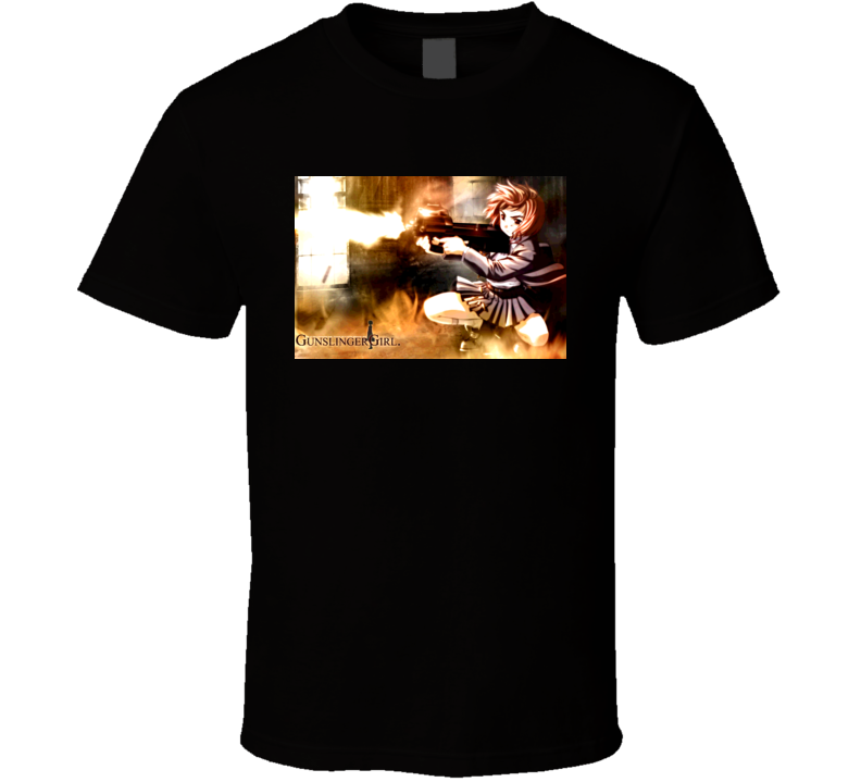 Gunslinger Girl Anime T Shirt