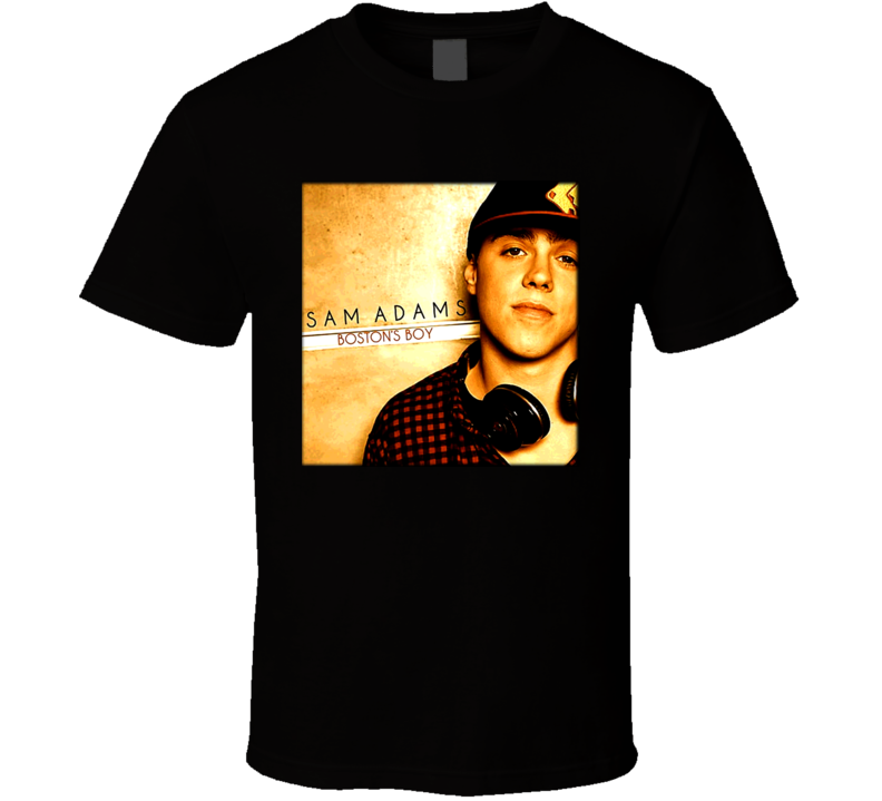 Sam Adams Bostons Boy Rap Hip Hop T Shirt