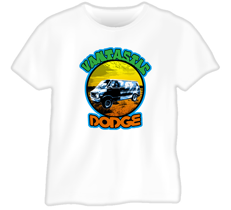 Vantastic 70s Dodge Van T Shirt