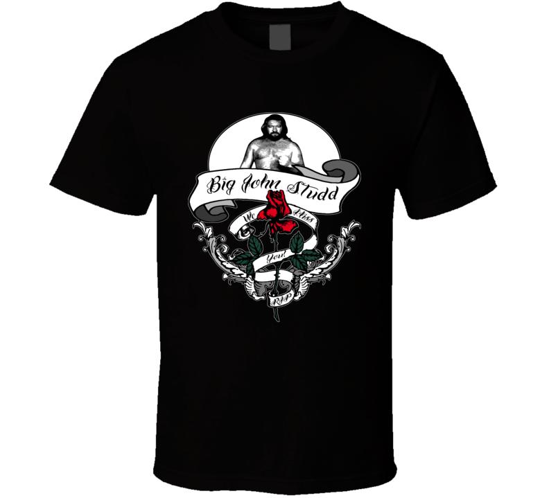 Big John Studd Wrestling RIP T Shirt
