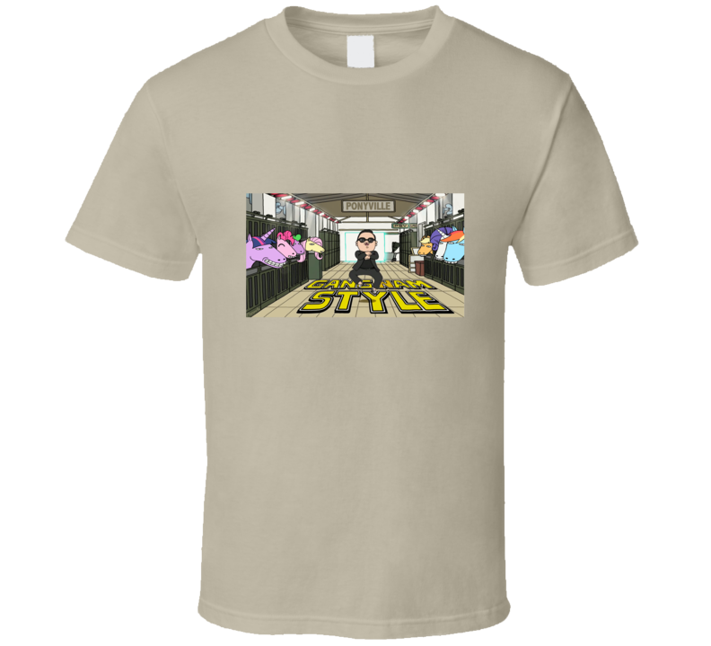 gangnam style cartoon funny t shirt