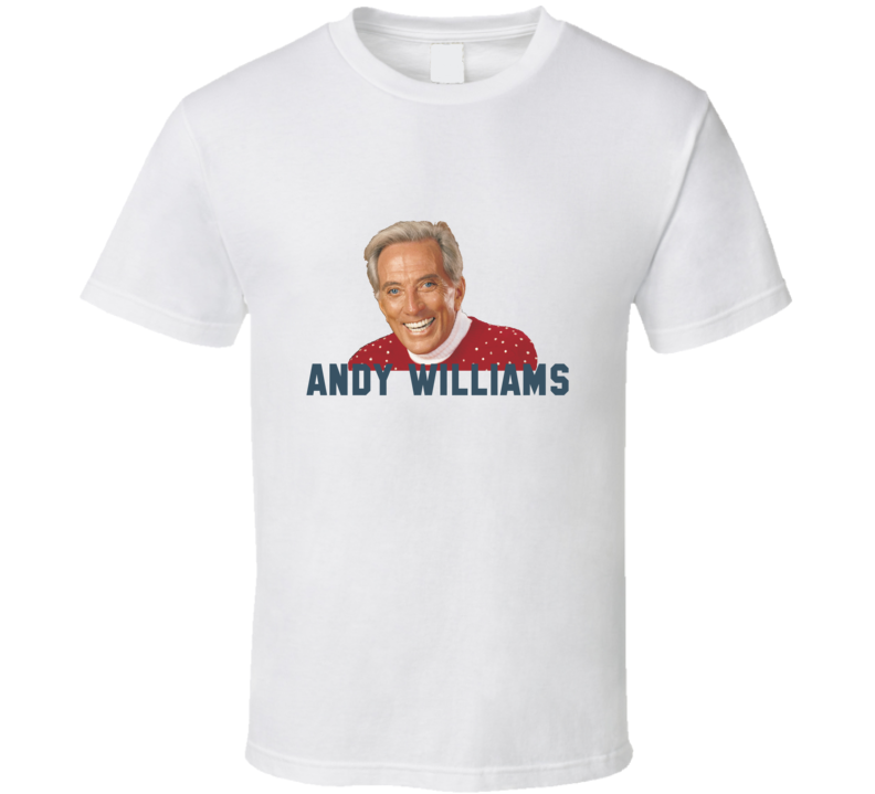 andy williams t shirt