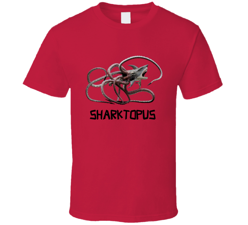 Sharktopus Shark Octopus Movie Inspired T-Shirt