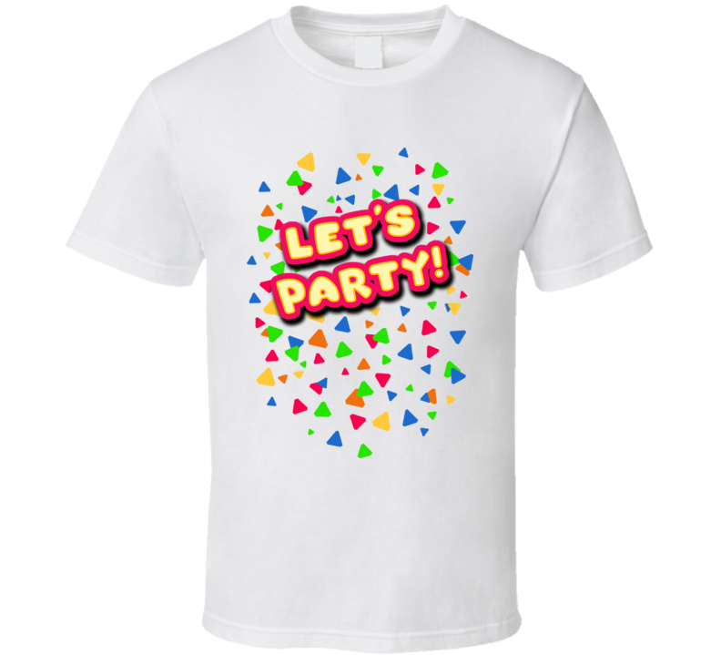 Toy Chica Let's Party Five Nights at Freddy's 2 Inspired T-Shirt