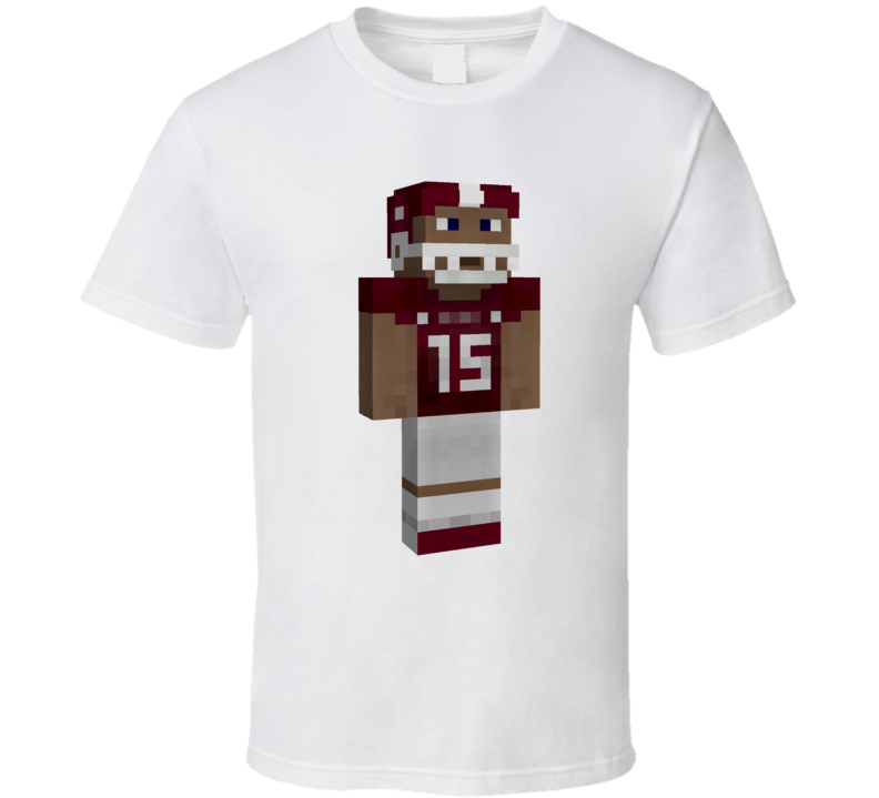 Dak Prescott Mississippi State Football Fan Minecraft Parody T Shirt
