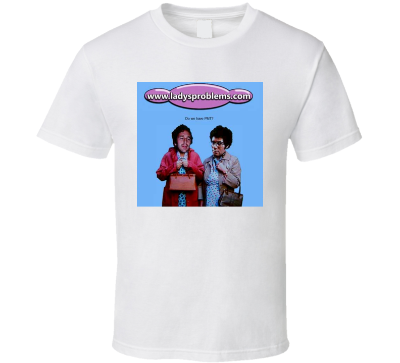 IT Crowd Fan Lady Problems Funny Aunt Irma Visits T-Shirt