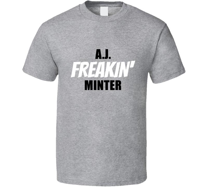 A.j. Minter Atlanta Baseball Player Team Fan Cool Game Swag Gift T Shirt