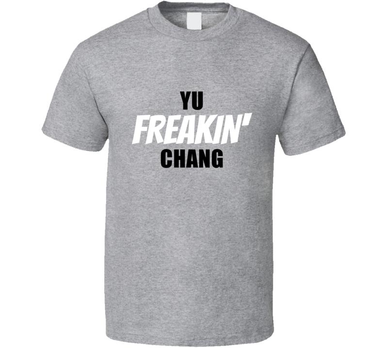 Yu Chang Cleveland Baseball Player Team Fan Cool Game Swag Gift T Shirt