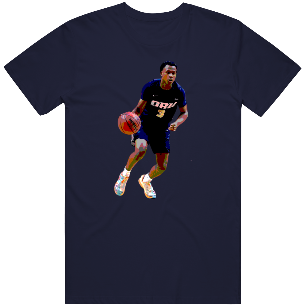 Max Abmas Oral Roberts Basketball Fan March Tournament Posterized Gift T Shirt