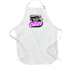 Food Truck Chaser Funny Fast Food Lovers Apron