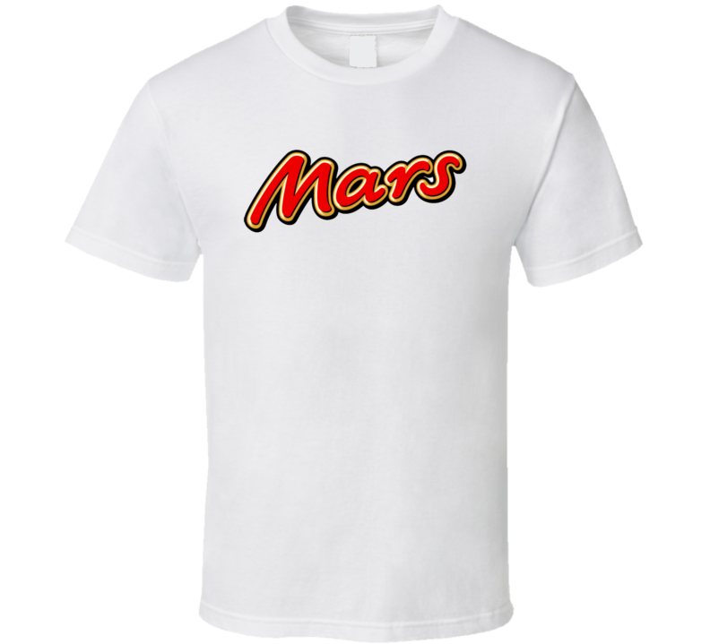 Mars Chocolate Candy Bar Lovers T Shirt