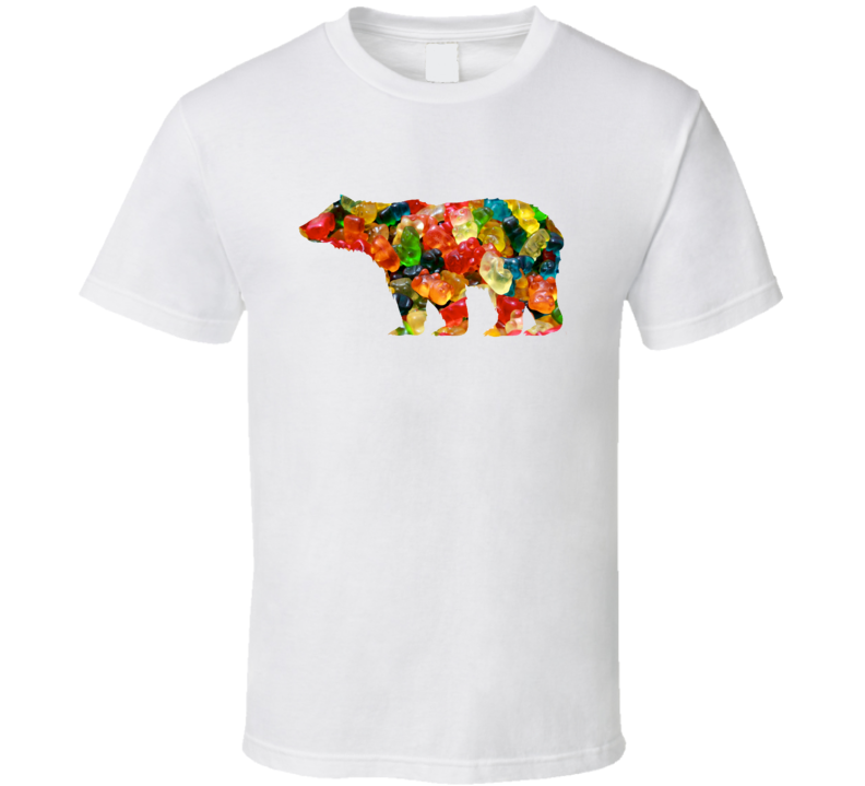 Gummy Bear Funny Animal Food Lover Candy Foodie T Shirt