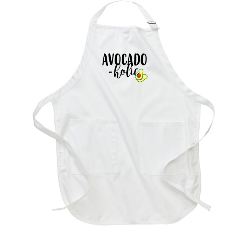 Avocado Holic Funny Guacamole Lovers Apron