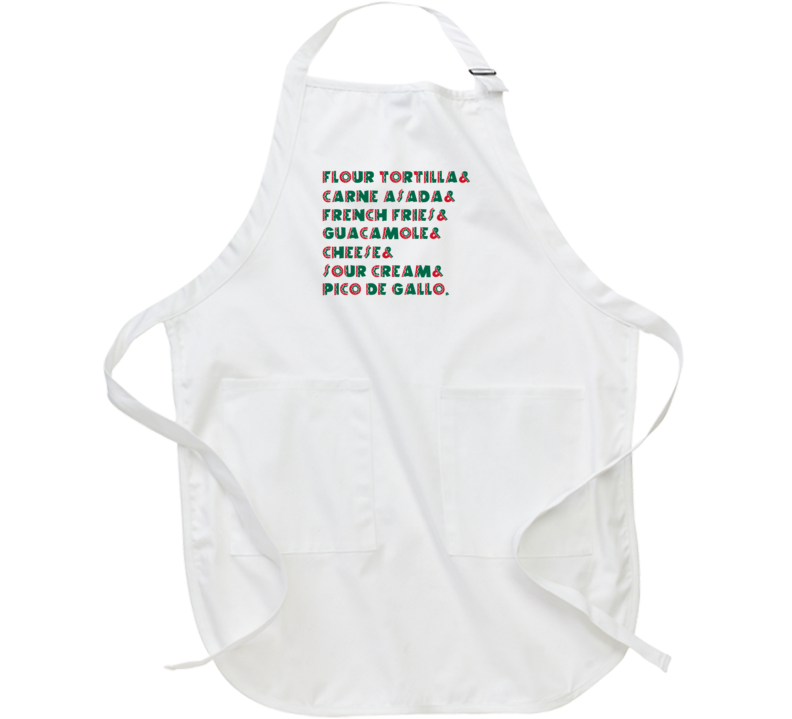 Fiesta Fries Ingredients Favorite Things Recipe Apron
