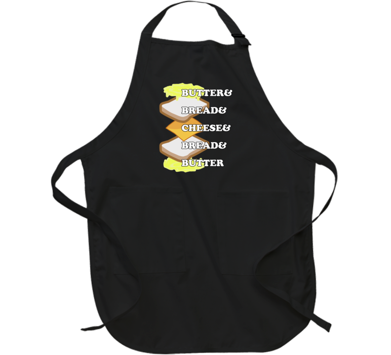Grilled Cheese Recipe Butter Bread Cheese Bread Butter Sandwich Lovers Apron