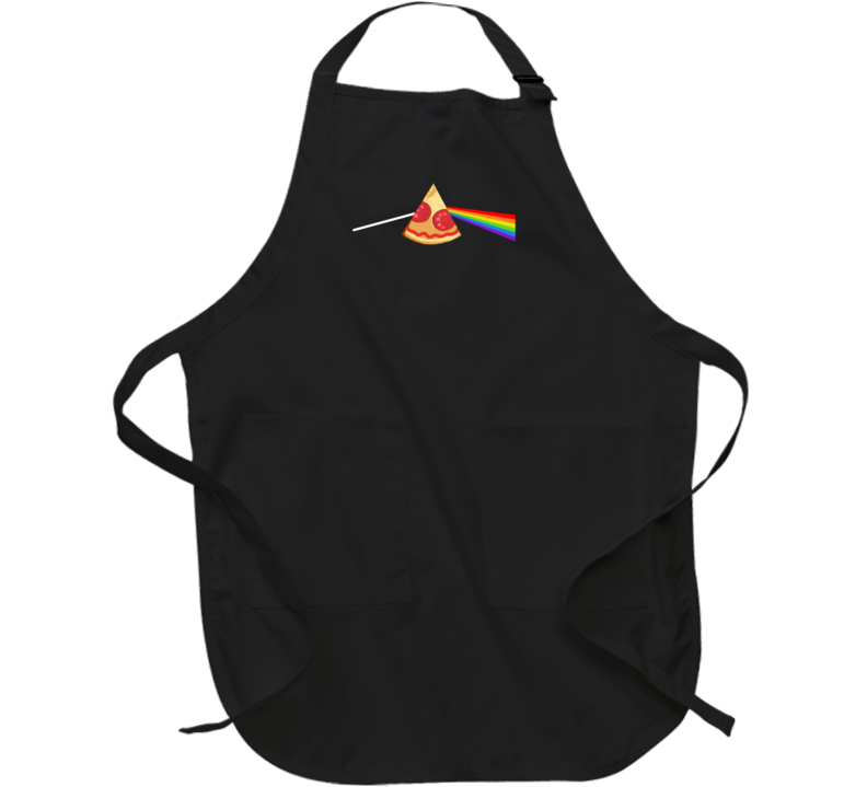 Pizza Dark Side Of The Moon Parody Pizza Lovers Apron