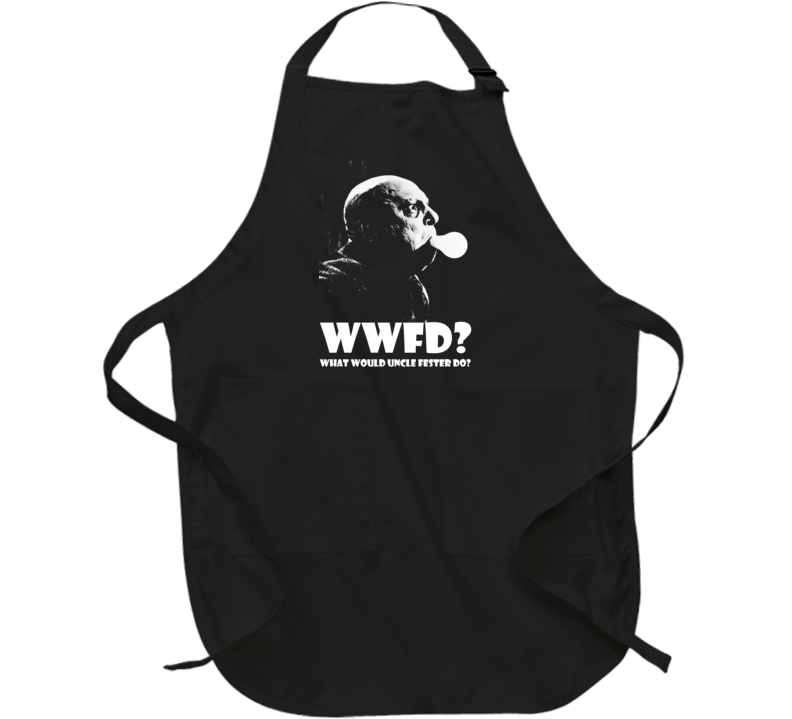 Wwfd? What Would Uncle Fester Do The Addams Family Light Bulb Apron