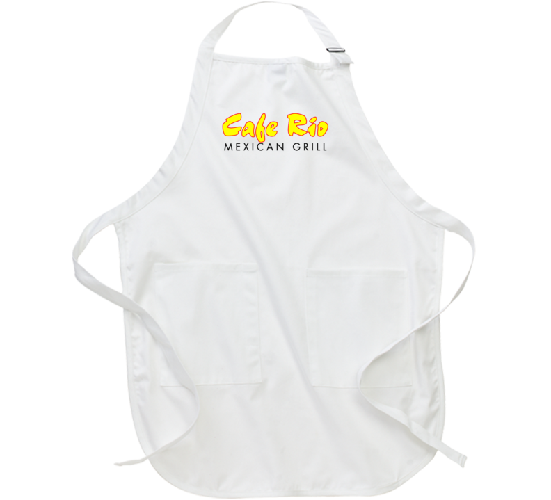 Cafe Rio Mexican Grill Food Restaurant Logo Chef Kitchen Apron