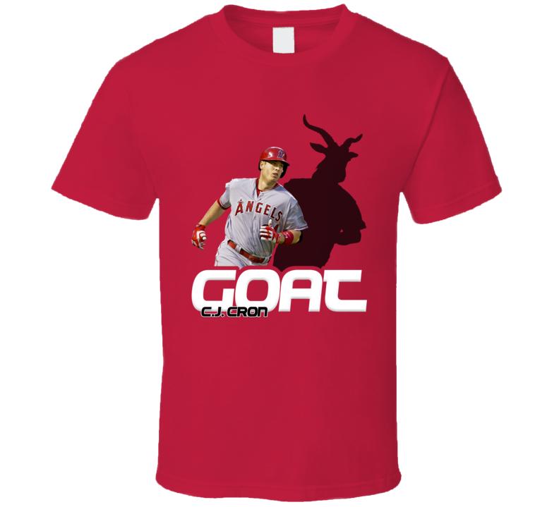 C.j. Cron Baseball Fan Goat T Shirt