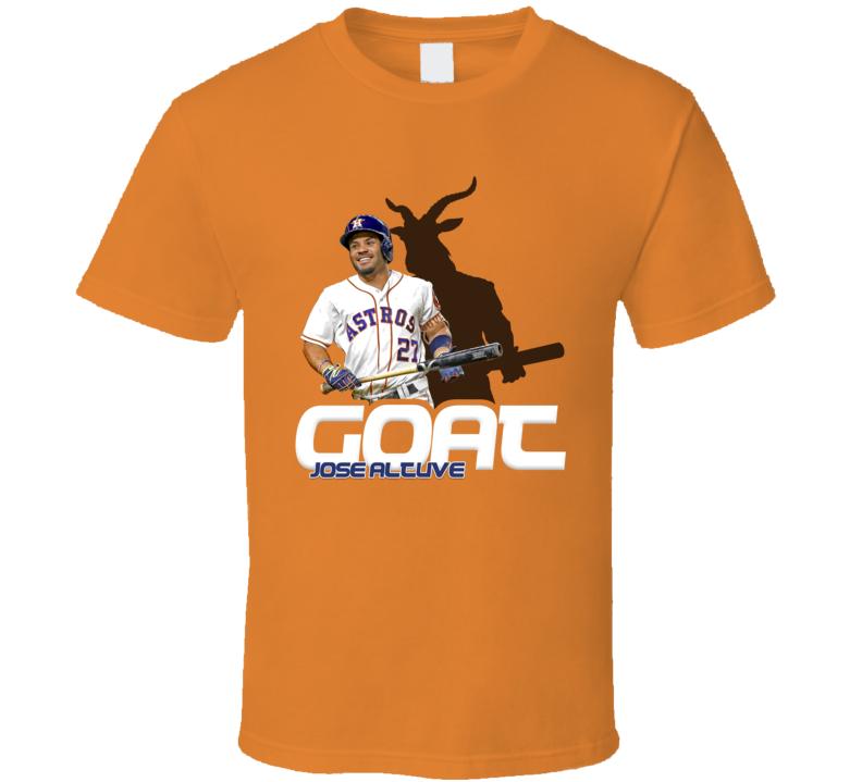Jose Altuve Baseball Fan Goat T Shirt