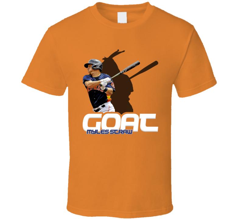Myles Straw Baseball Fan Goat T Shirt