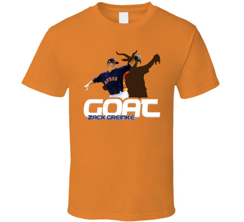 Zack Greinke Baseball Fan Goat T Shirt